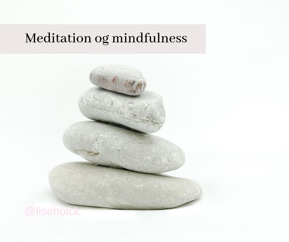 meditation og mindfulness