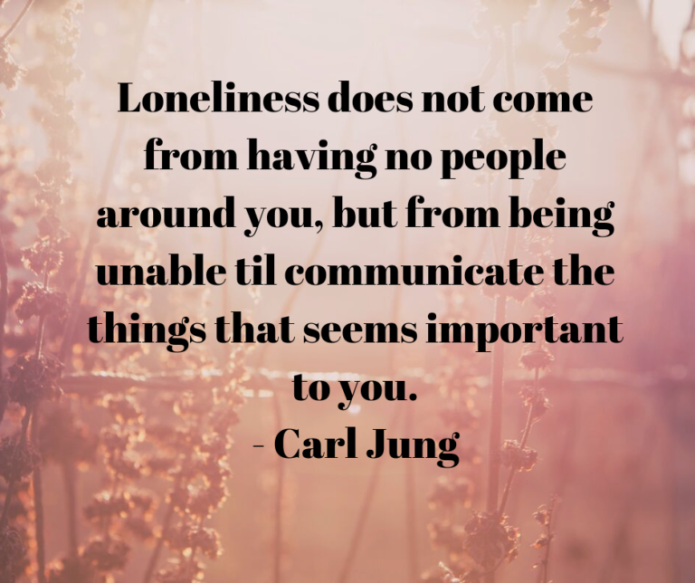 Loneliness Carl Jung